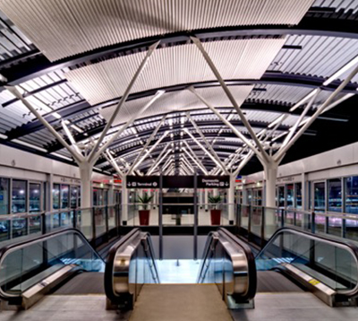 SFO Air Train Stations Glam